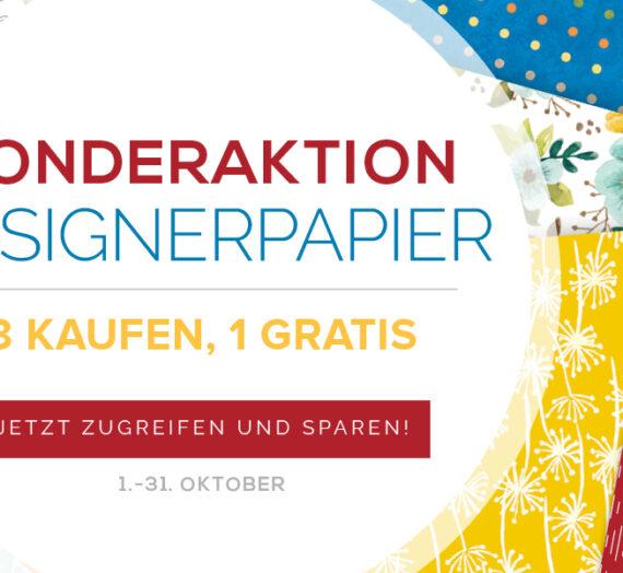 SONDERAKTION DESIGNERPAPIER