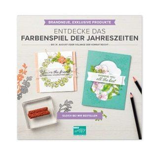 Farbenfroh durch's Jahr – Nutze den Vorverkauf im August!!