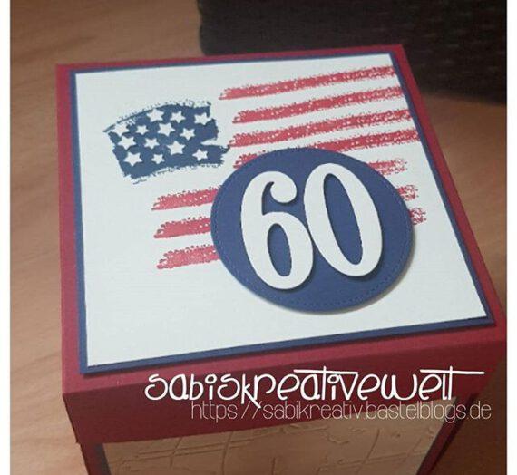 EXPLOSIONSBOX USA ZUM 60. GEBURTSTAG