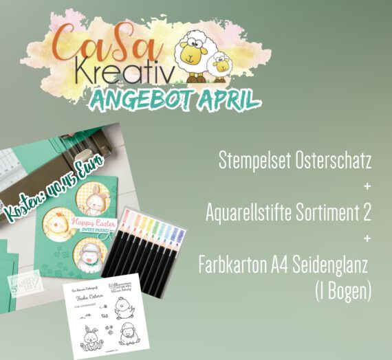 CaSaKreativ-Angebot April