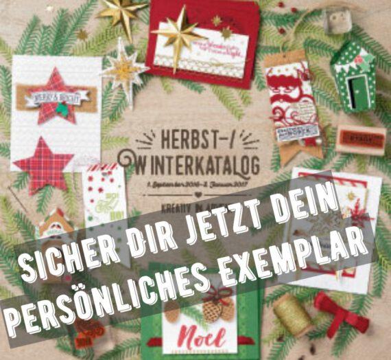 HERBST- & WINTERKATALOG 2016 JETZT VORBESTELLEN