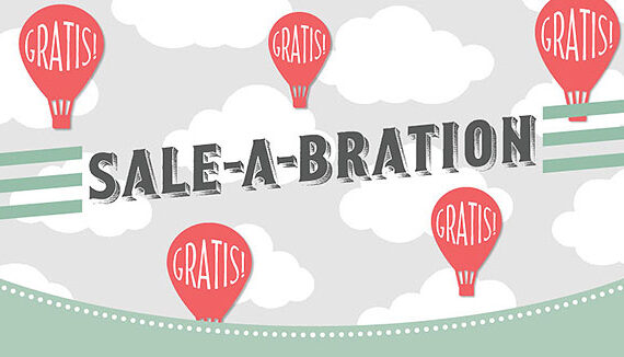 SALE-A-BRATION ~ LOS GEHT'S
