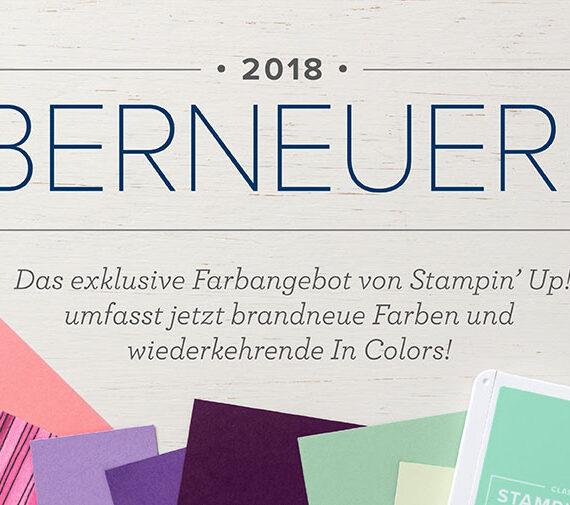FARBERNEUERUNG 2018