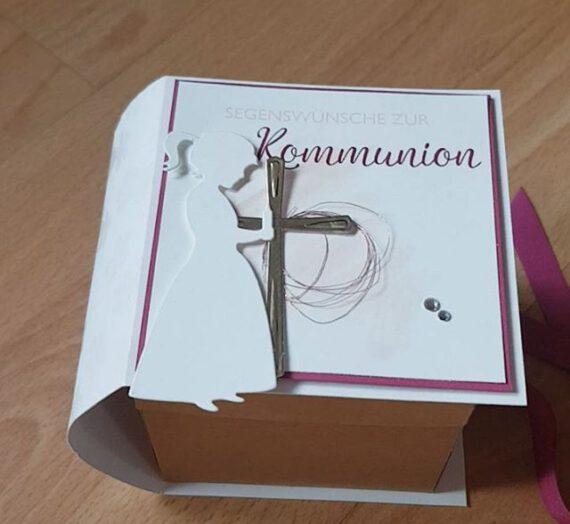 Explosionsbox Kommunion ~ Gebetbuch **Video**