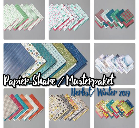 DESIGNER-PAPIER-SHARE / MUSTERPAKET HERBST-WINTER 2019
