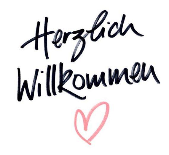 Hallo & ♡lich Willkommen