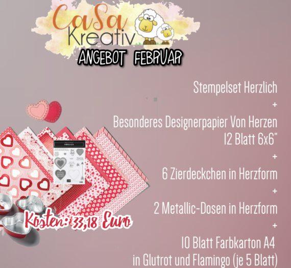 CaSaKreativ-Angebot Februar