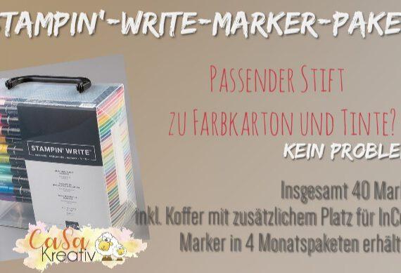 STAMPIN' WRITE MARKER PAKET