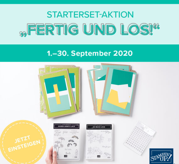 STARTERSET-AKTION FERTIG & LOS!